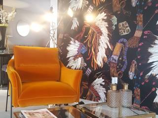 Escritórios modernos por CRISTINA AFONSO, Design de Interiores, uNIP. Lda Moderno