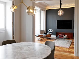 Living room by estudio crearte, Eclectic