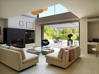Living room by estudio crearte, Modern