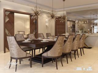 Salas de jantar  por Vogue Design