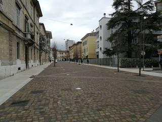 PORFIDO DEL TRENTINO Consorzio Porfido italia Lantai Batu Brown