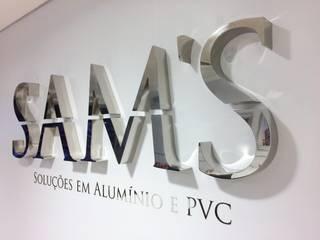 modern  door SAM'S - Soluções em alumínio e PVC, Modern