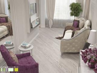 Living room by Мастерская интерьера Юлии Шевелевой, Classic