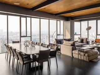 Phòng ăn phong cách hiện đại bởi Concepto Taller de Arquitectura Hiện đại