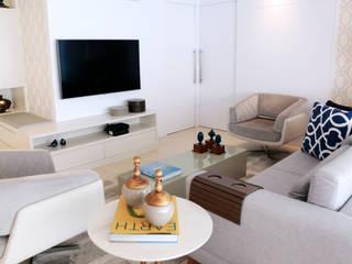 Modern Oturma Odası Haus Brasil Arquitetura e Interiores Modern