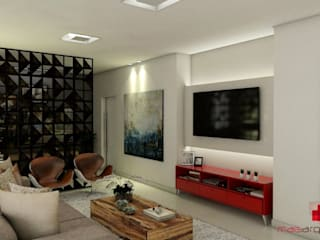 Mais Arquitetura 34 Living roomTV stands & cabinets