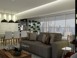 Mais Arquitetura 34 Living roomLighting