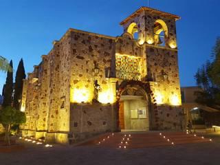 Proyecto de Iluminación.: Casas de estilo  por Amereida Arquitectos