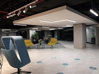 Remodelación de oficinas en Reforma (Colaboración con TWA) Estudios y despachos modernos de doblev.arq Moderno