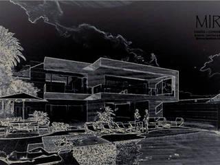 Casa Portales.: Casas de campo de estilo  por MIRAVELA