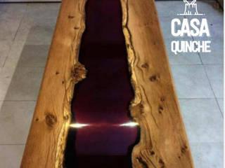 Colección RAW / mesas de centro:  de estilo  por Casa Quinche