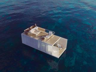 Punta de Mar Hoteles de estilo minimalista de Mano de santo - Equipo de Arquitectura Minimalista