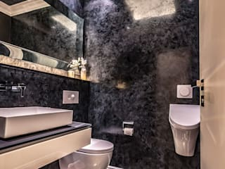 Eclectic style bathroom by Moreno Licht mit Effekt - Lichtplaner Eclectic
