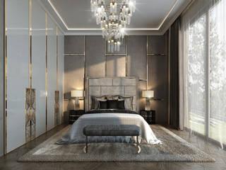 클래식스타일 침실 by GLAZOV design group концептуальная студия дизайна интерьеров 클래식