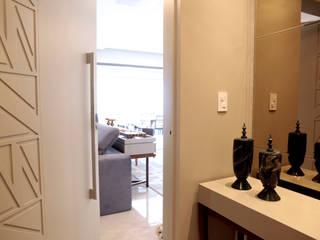 Modern Koridor, Hol & Merdivenler Haus Brasil Arquitetura e Interiores Modern