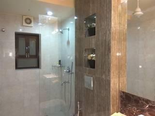 GUEST HOUSE TOILETS Modern bathroom by Rashi Agarwal Designs Modern