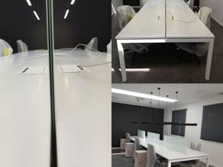 Mobiliario para Coworking en Santiago por SIMPLEMENTE AMBIENTE de SIMPLEMENTE AMBIENTE mobiliarios hogar y oficinas santiago Escandinavo