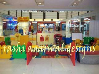 PLAY AREA IN A MALL by Rashi Agarwal Designs Modern