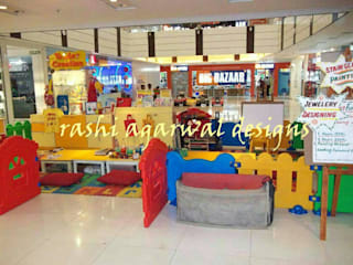PLAY AREA IN A MALL by Rashi Agarwal Designs Eclectic