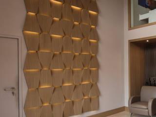 DF Francia headquaters. Our office in San Cesareo, Rome (Italy) Pareti & Pavimenti in stile moderno di DF Francia Moderno