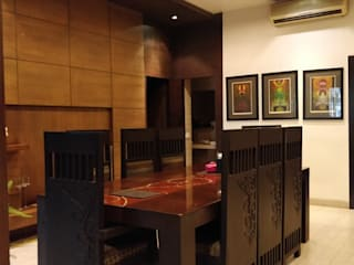 RESIDENCE PROJECT Modern dining room by Rashi Agarwal Designs Modern
