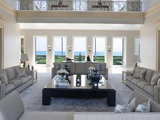 Living room: Soggiorno in stile  di DF Francia