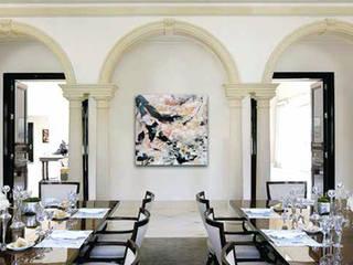 Dining room : Sala da pranzo in stile  di DF Francia