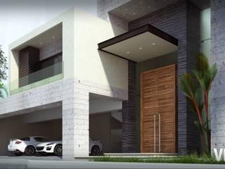 Proyecto RO: Casas de estilo  por Vea Arquitectos