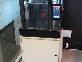 Mobilier rangement imprimante 3D par Quantum Design Moderne
