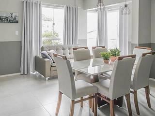 La Decora Ruang Makan Modern Grey