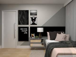 La Decora Kamar Tidur Modern Grey