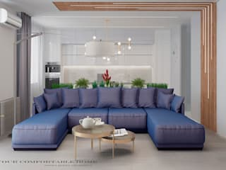 Your Comfortable home Livings de estilo mediterráneo