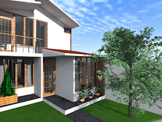Casa pequeña de ARDI Arquitectura y servicios Moderno
