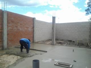 Ejecución del proyecto ARDI Arquitectura y servicios Casas pequeñas Concreto