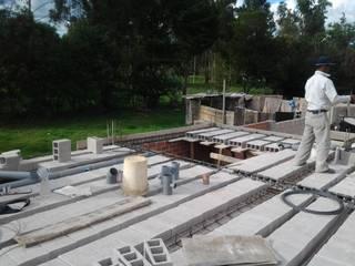 Techo primer piso de ARDI Arquitectura y servicios Moderno Concreto