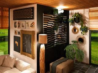 3d iç mekan tasarımları Interıart Factory Eklektik