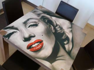 Tavoli artistici:  in stile  di BALDO TAVOLI