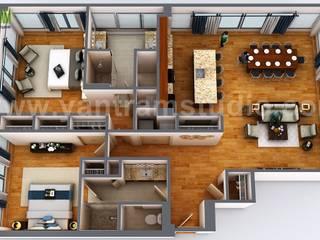 Floors by Yantram Architectural Design Studio