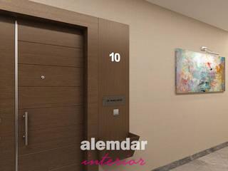 Konut Projesi Modern Duvar & Zemin elif alemdar interior Modern