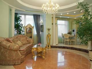 Квартира в Москве в Шмитовском пр. в классическом стиле. Для семьи из 3-х чел. Гостиная в классическом стиле от DAA Классический