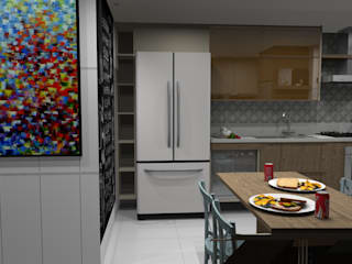 Kitchen units by Ana Adriano Design de Interiores, Modern