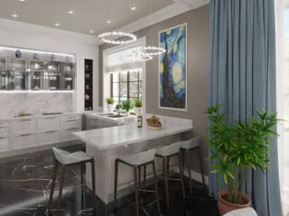 Современный американец Кухня в стиле модерн от Эксклюзив Интерьер Модерн