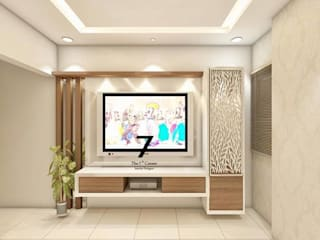 living  room:  Living room by The 7th Corner - Interior Designer