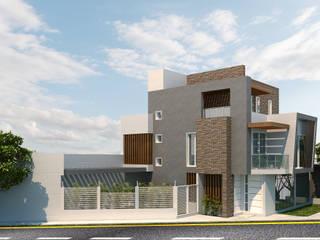Instalaciones Sostenibles SAS Rumah pasif Batu Bata Grey