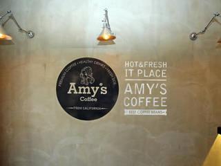 Amy's coffee 검단점: 모노웍스의  바 & 카페,인더스트리얼