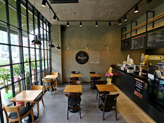 Amy's coffee 검단점 인더스트리얼 스타일 바 & 클럽 by 모노웍스 인더스트리얼