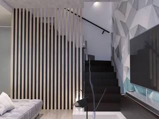 Кухня-гостиная: Гостиная в . Автор – GELA_design