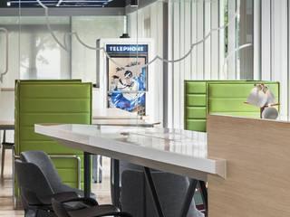 伊歐室內裝修設計有限公司 Oficinas de estilo moderno