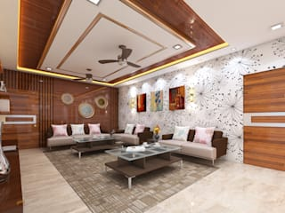 Residence Modern style bedroom by Bhuvith Creations Modern