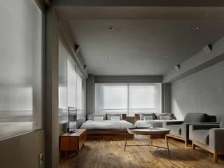 目白通りのアパートメントホテル  Ⅱ: 西谷隆建築計画事務所が手掛けた商業空間です。,